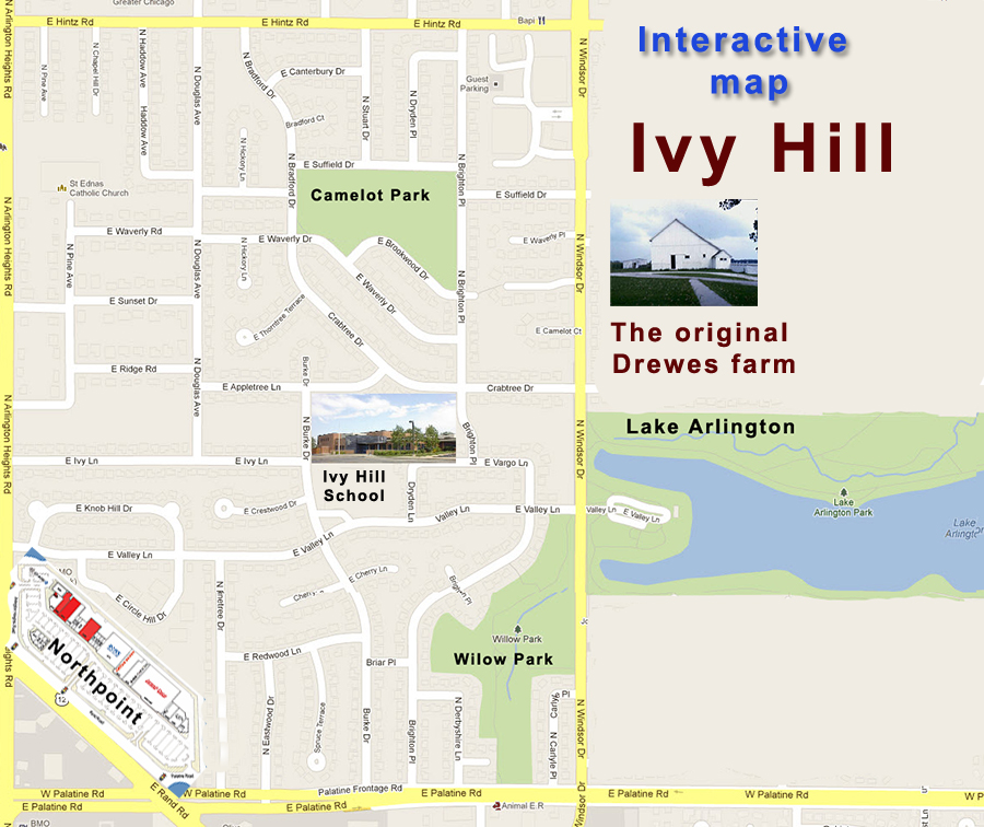 Ivy Hill Map 60004